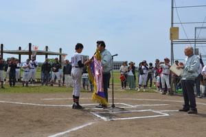 東京調布むらさきロータリークラブ旗 第41回調布市少年野球連盟春季大会