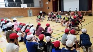 パラスポーツ体験「車椅子バスケ」教室