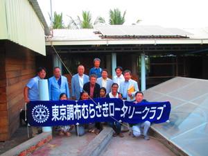 カンボジア王国の国際日本文化学園「一二三日本語教室」へソーラー発電プロジェクト